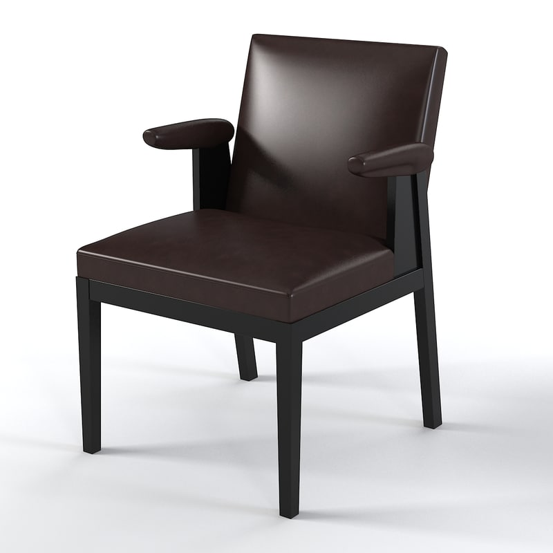 3d Model Christian Liaigre Chair