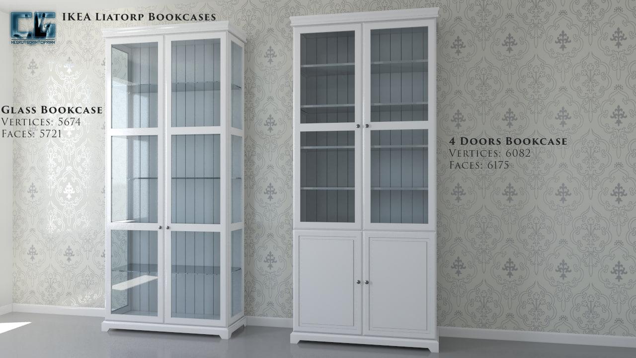 Max Ikea Liatorp Bookcase
