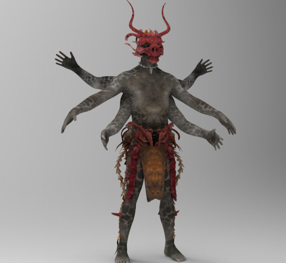 Kali Tribe 3D Models