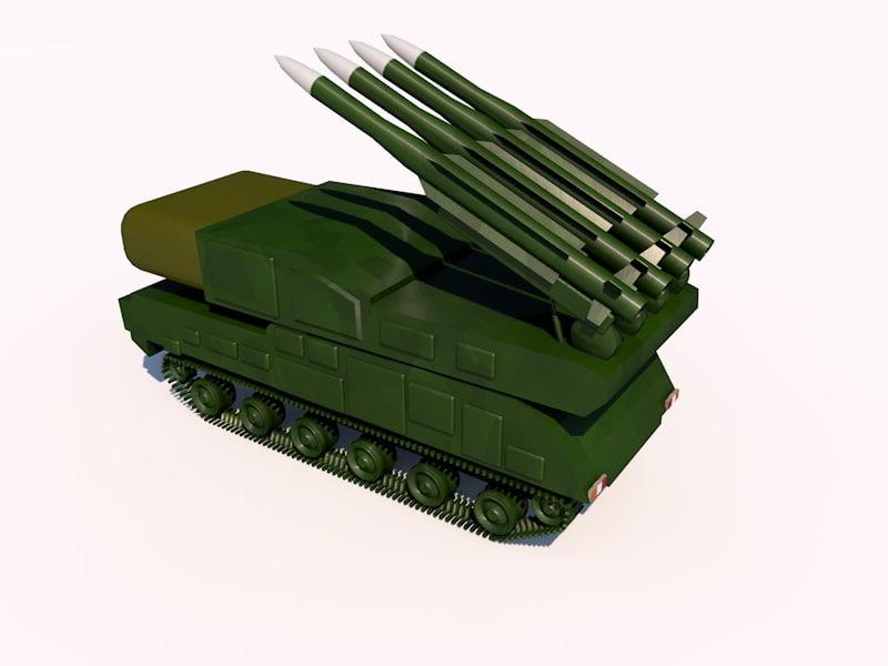 BUK SA-17 SAM