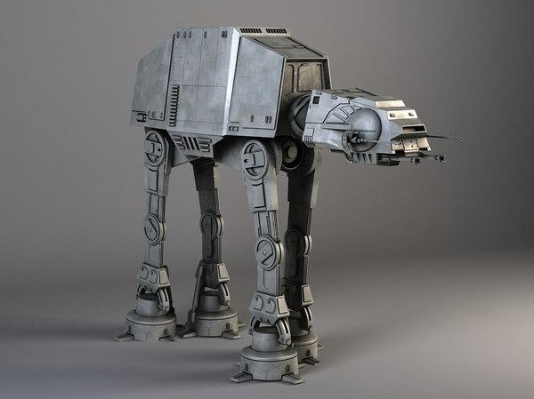 Star Wars AT-AT Walker 3D Models