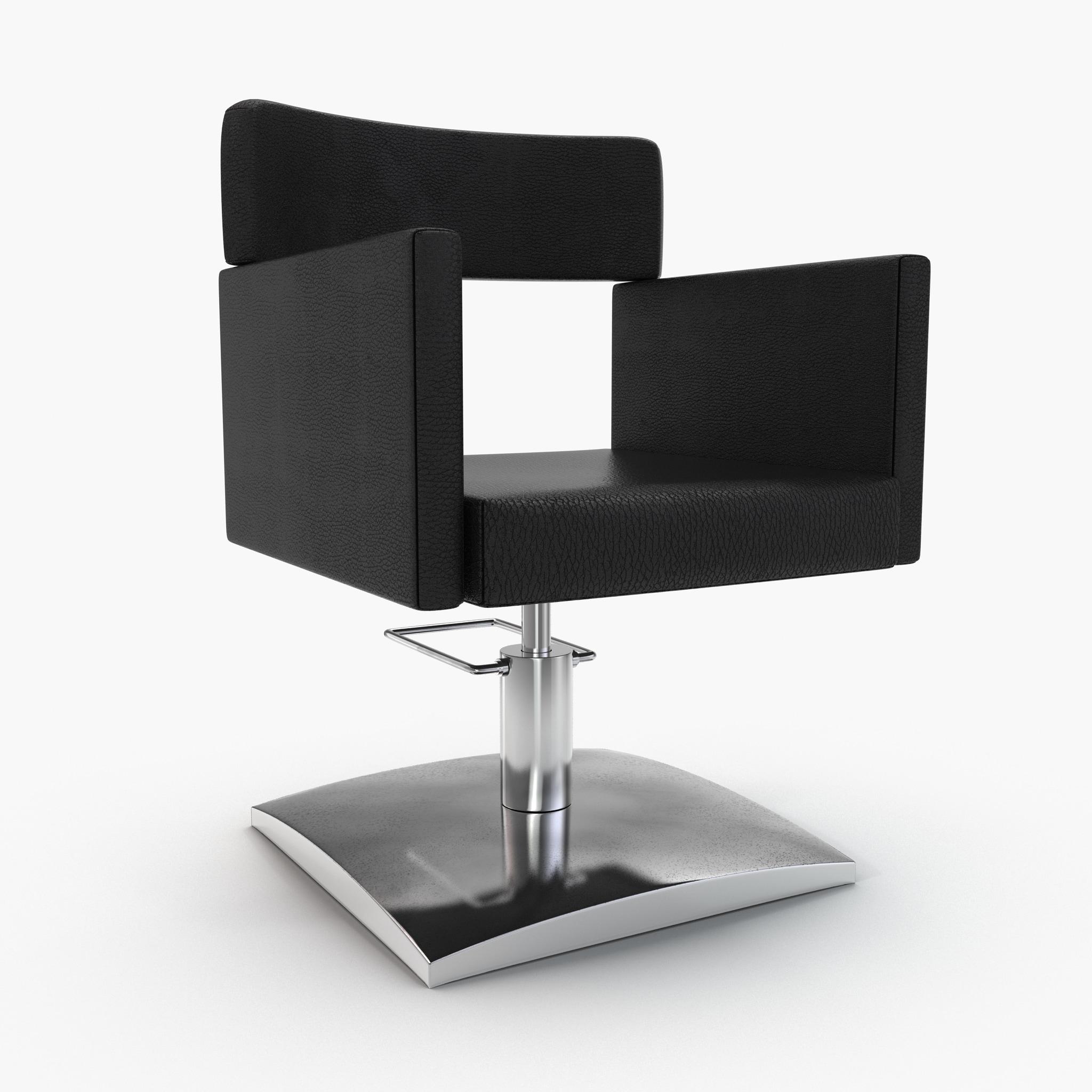 3d salon chair 4 model for 3d salon design software