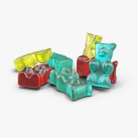 gummy bear 3D models