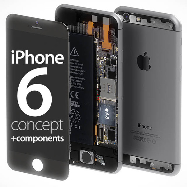 iPhone 6 concept + components Building Components