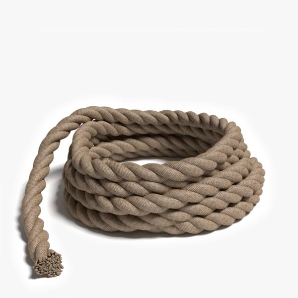 Rope Pile 3D Models