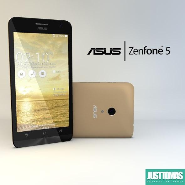 Asus Zenfone 5 3D Models