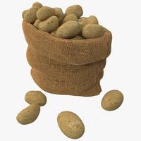 Root Vegetables 3D models