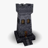 guard tower 3D models