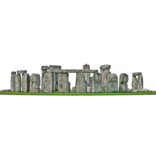 Stonehenge 2 3D Models