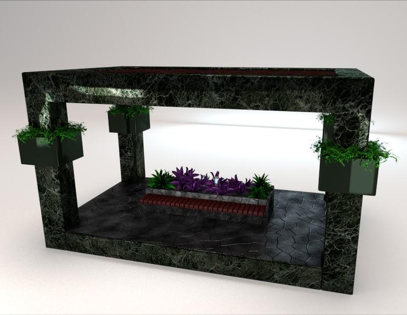 Cuboid gazebo bench area shot 1.jpg