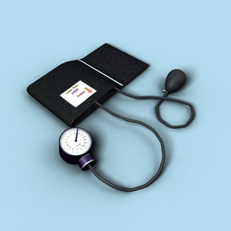 Blood Pressure Cuff - Rigged