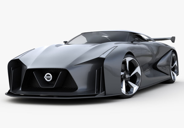 Nissan Concept 2020 Vision Gran Turismo 3D Models