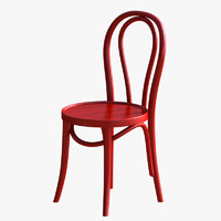 cafe chair 3D models
