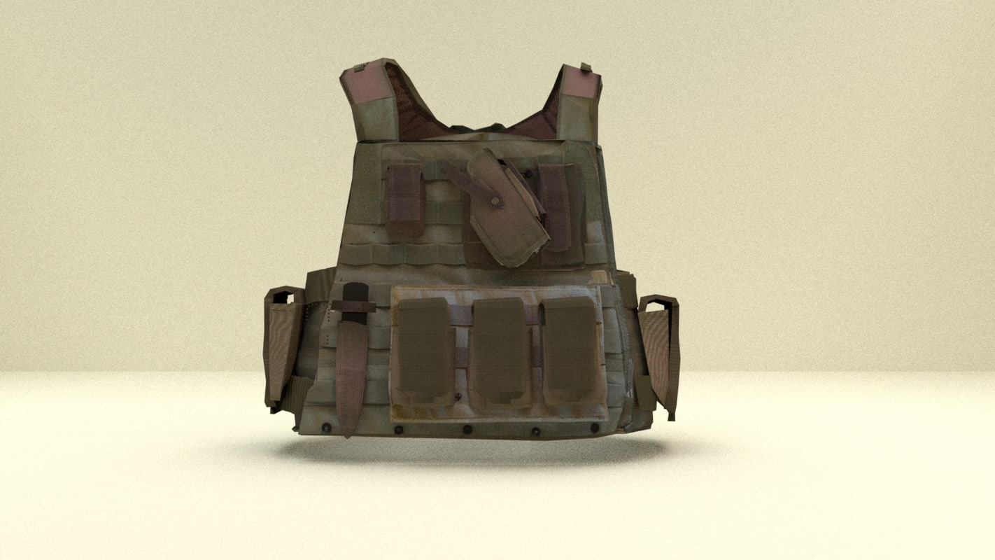 Bullet Proof Vest with molle attachments