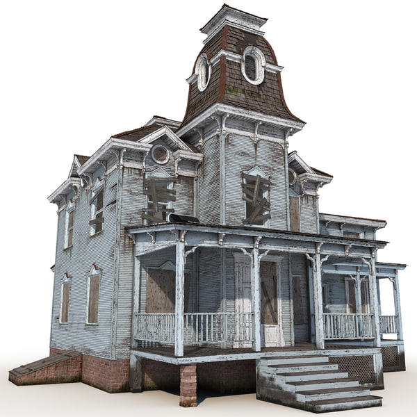Haunted House 3D Models