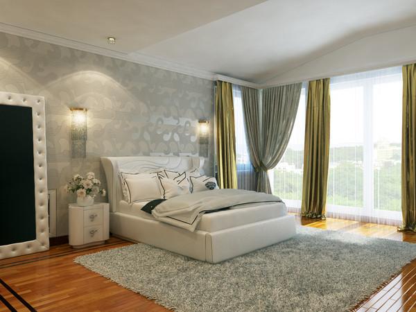 interior master bedroom 3D Models