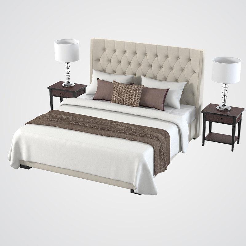 Meridiani Bedroom Set