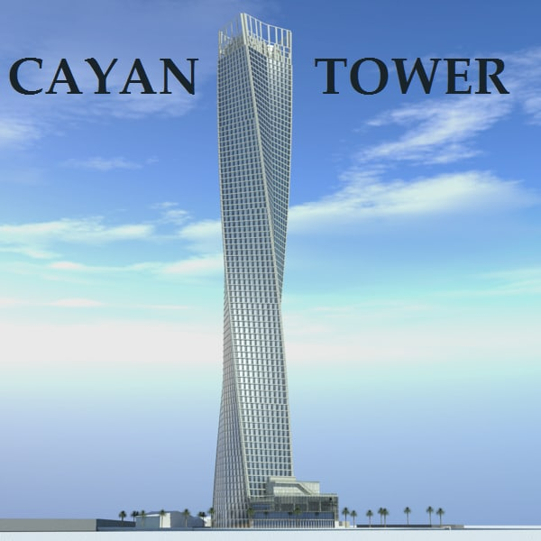Model Cayan Tower
