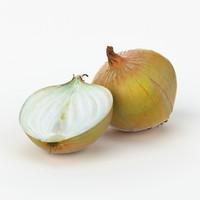 Yellow Onion 3D models