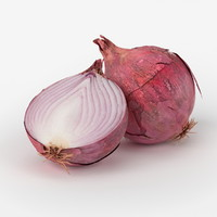 Red Onion 3D models