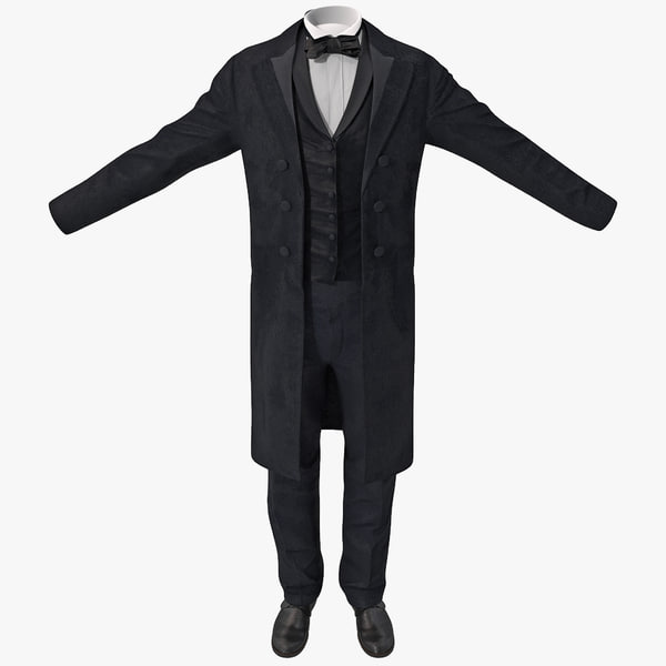 Mens Dinner Suit 3D Models