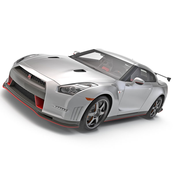 Nissan GT-R Nismo 2015 3D Models