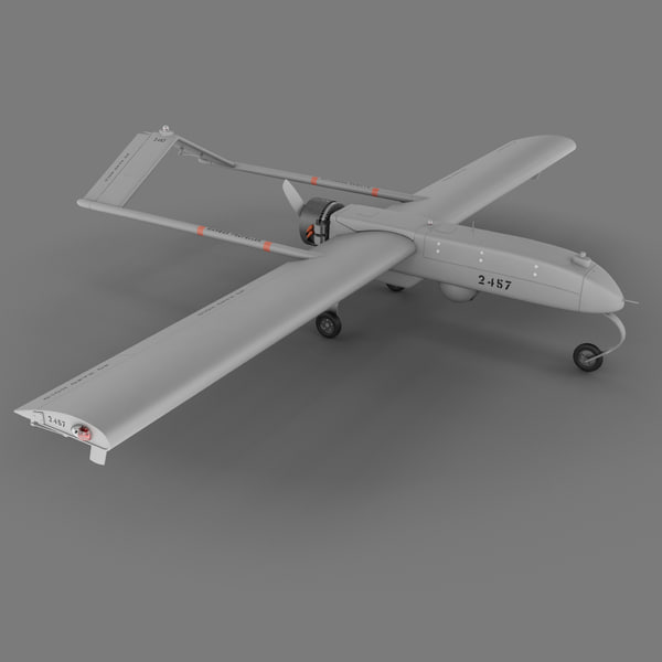 RQ-7 Shadow Unmanned Aerial Vehicle 3D Models