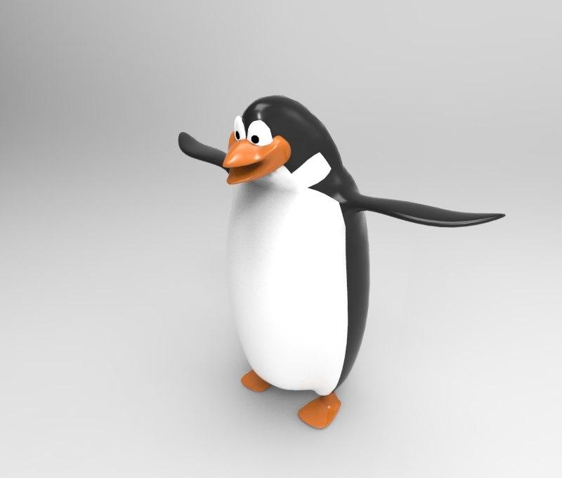 penguin cartoon