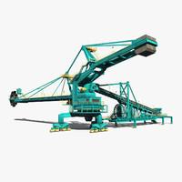 reach stacker 3D models
