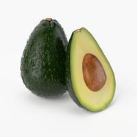 Avocado 3D models