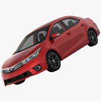 Corolla 3D models