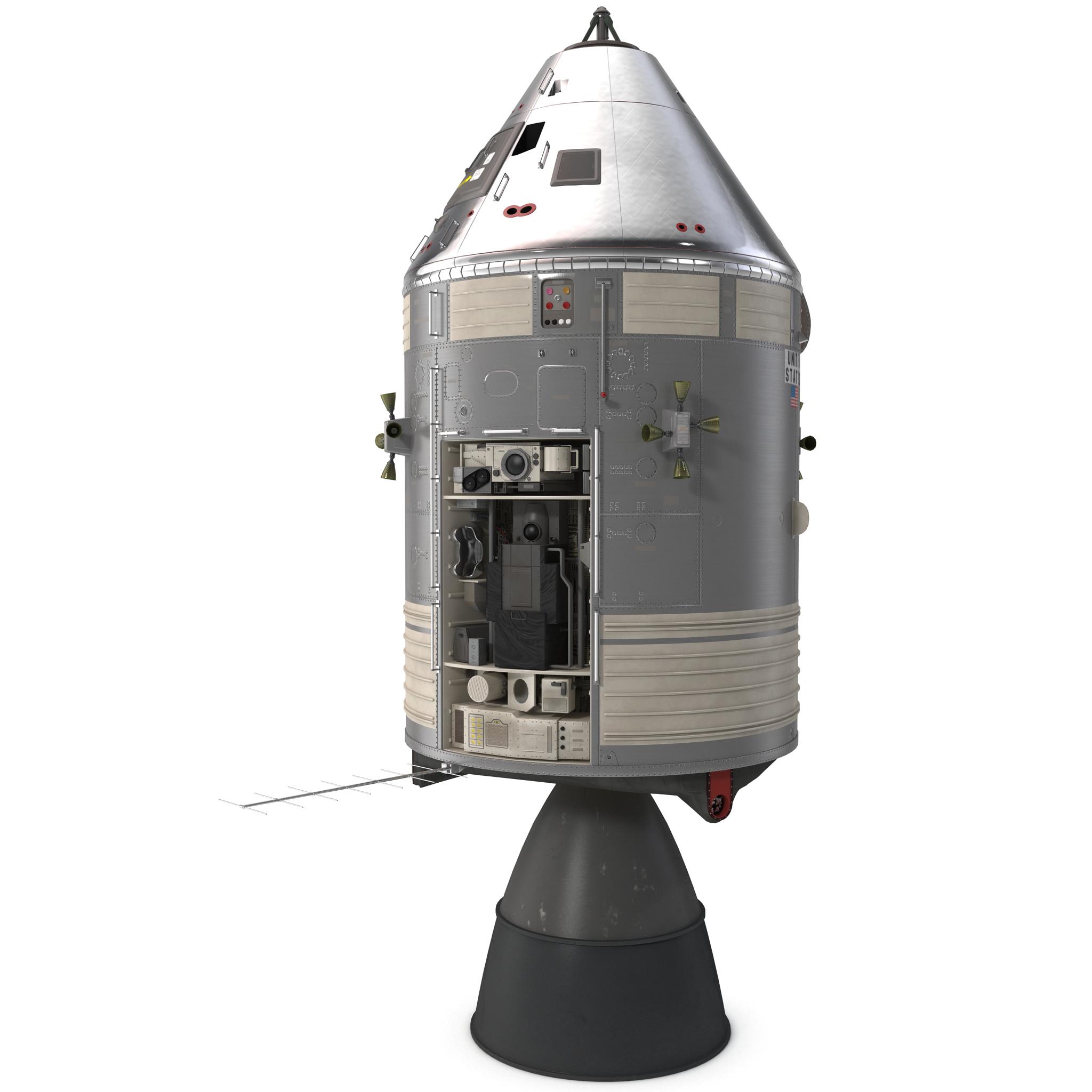 max apollo spacecraft