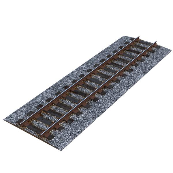 Railroad 2 3D Models