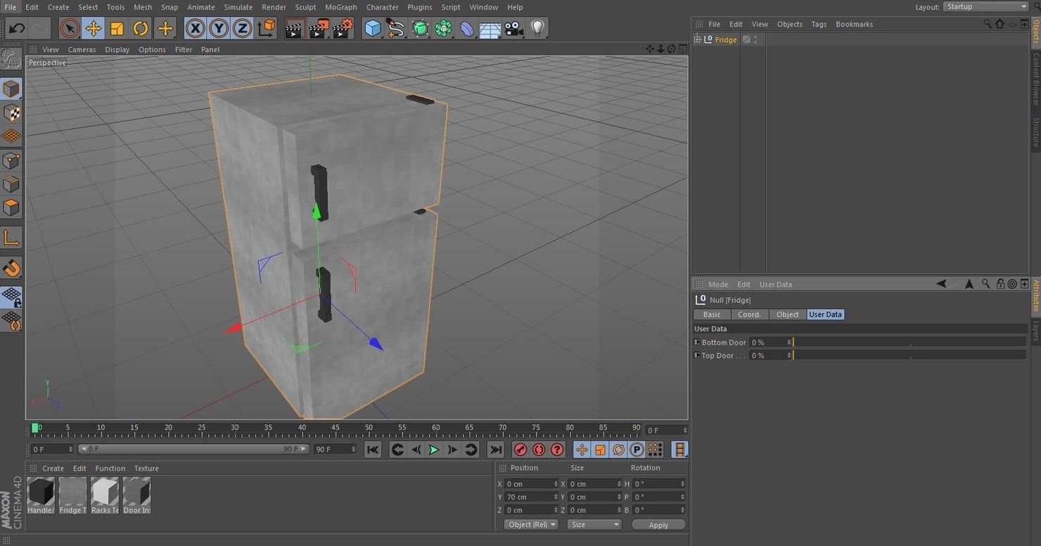 Minecraft fridge c4d for 0 1 couch to fridge