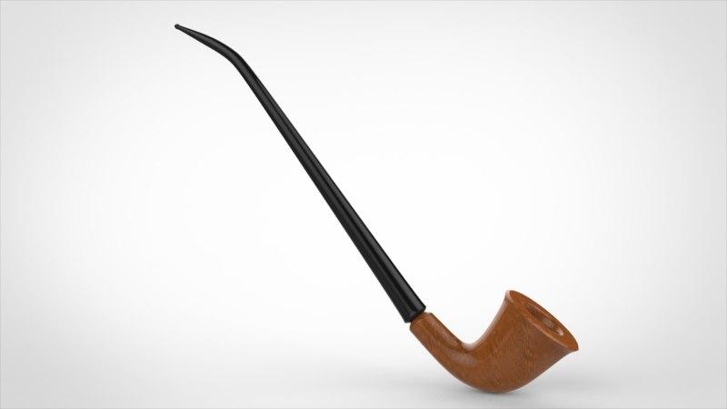 realistic pipe