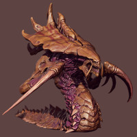 Hydralisk 3D models