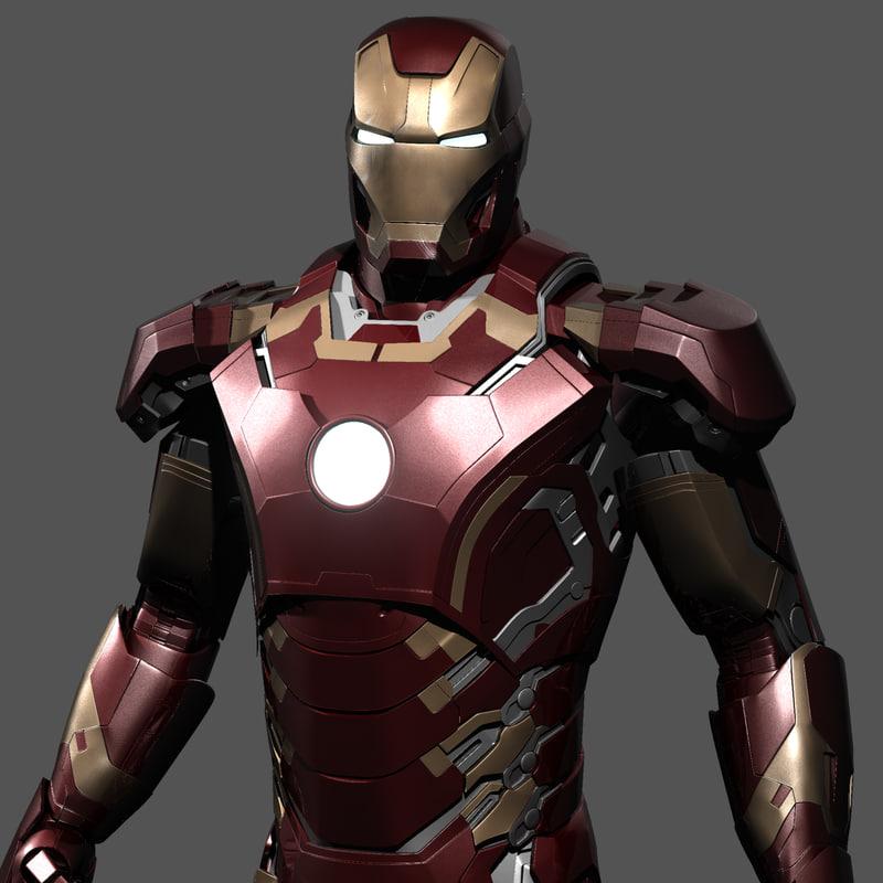 Iron Man Avengers Age Ultron Obj