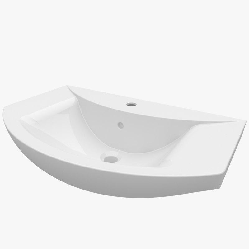 3d washbasin 680 285