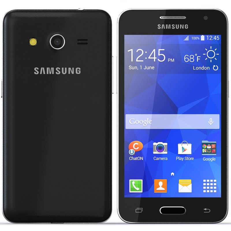 3dsmax Samsung Galaxy Core 2