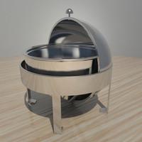 buffet warmer 3D models