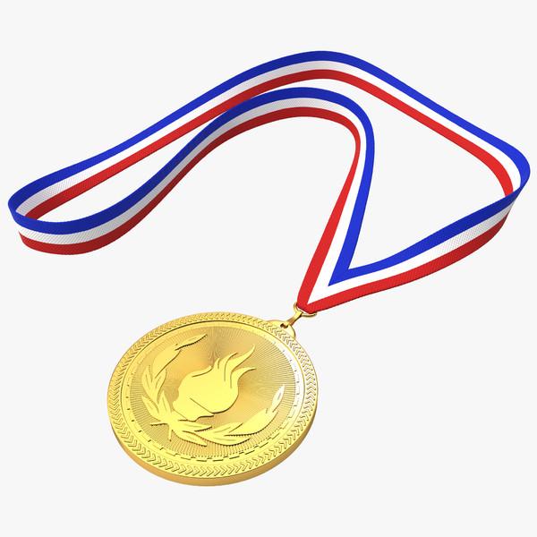 Medal Ribbon 3D Models