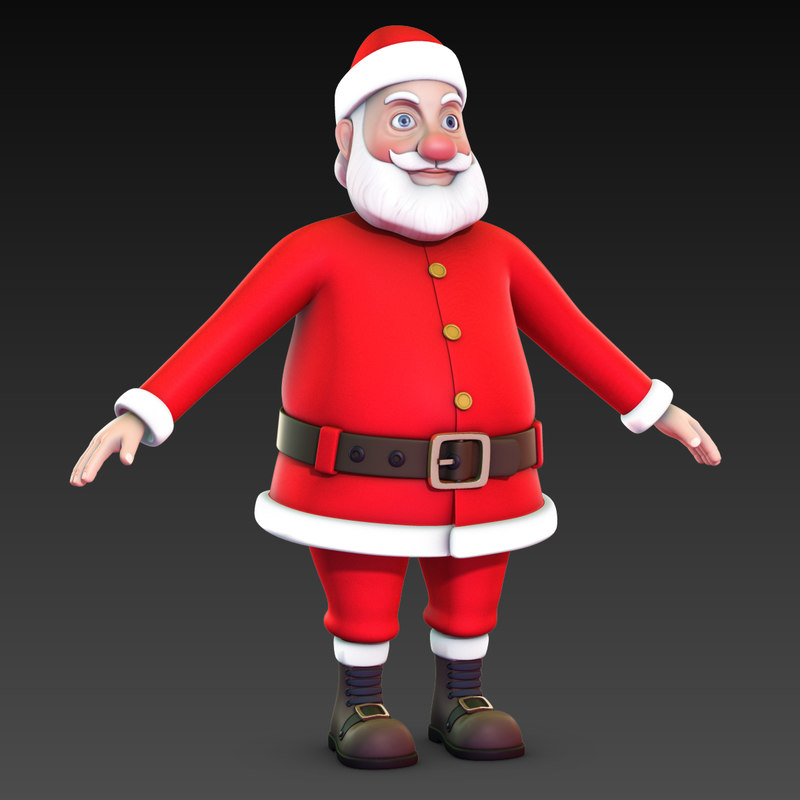 Santa Claus No Rig