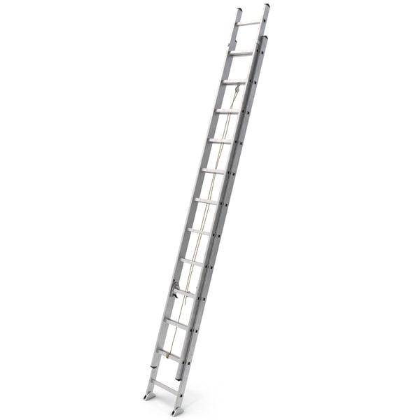 Aluminum Extension Ladder 3D Models