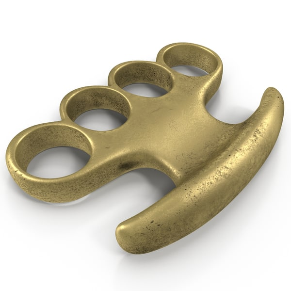 Brass Knuckles 3D Models