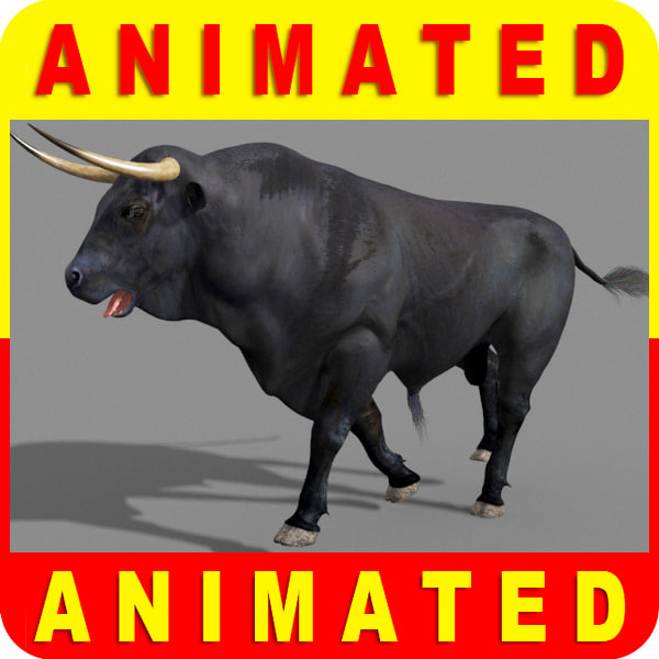 Ultimate Bull 3D Models