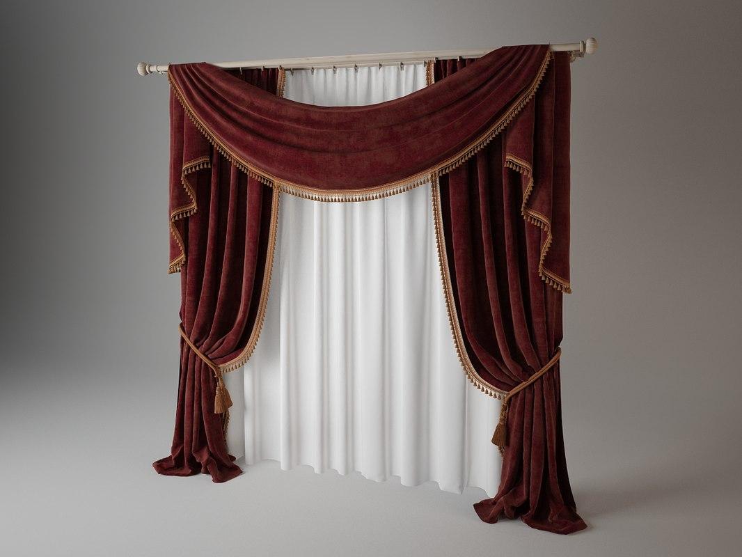 3d curtain materials fabric