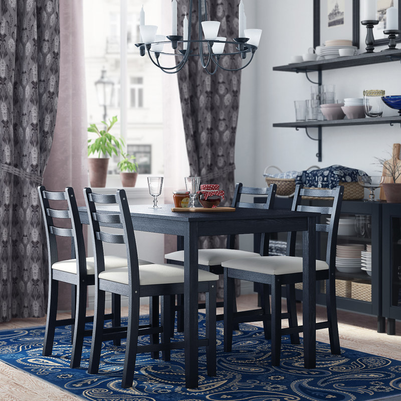 3d max ikea lerhamn dining room for Dining room table 3ds max