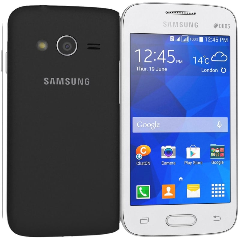 Samsung Galaxy Ace NXT Black And White