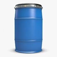 water barrel 3D models