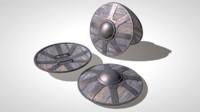 buckler shield 3D models